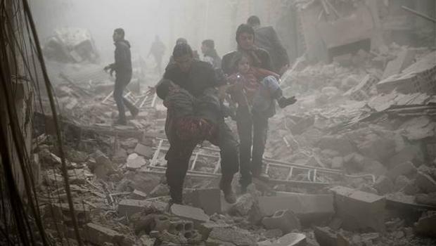 Rus saldırılarına bin 815 sivil kurban