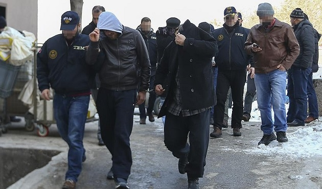 Gaziantep ve Kilis'te 30 kişiye IŞİD gözaltısı