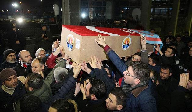 Suriye'de öldürülen MHP'li Küçük'ün cenazesi İstanbul'da