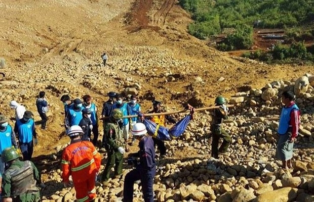 Myanmar'da yeşim madeninde göçük: 6 ölü