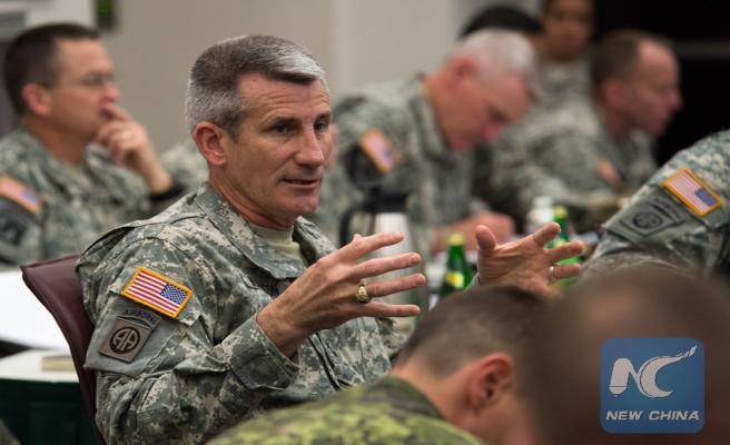 Afganistan NATO komutanı değişti