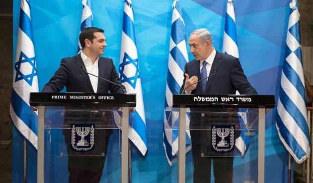 Çipras ve Netanyahu'dan Türkiye'ye mesaj!