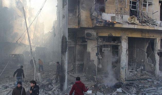 Esad güçleri yine yerleşim yerini vurdu