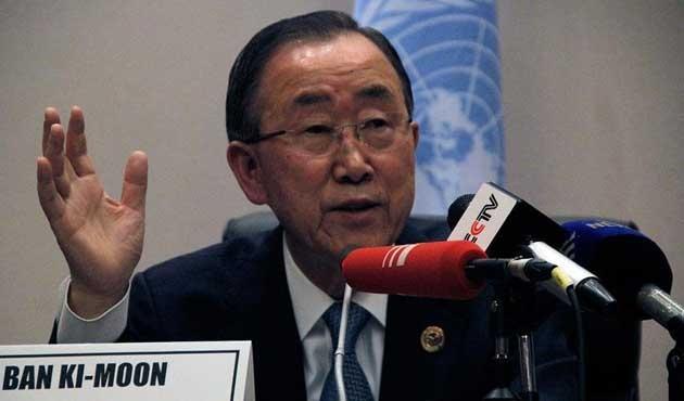 Ban Ki-mun'dan Anastasiadis'e 'müzakere' telefonu