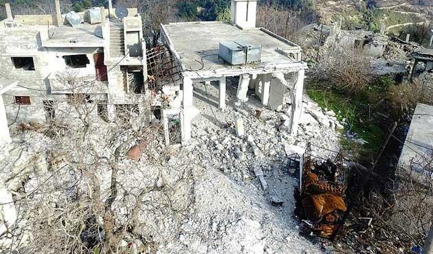 Türkmen köyleri harabeye döndü