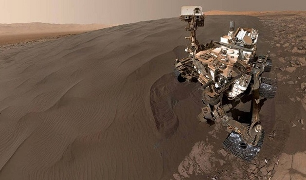 Curiosity'den Mars 'selfie'si