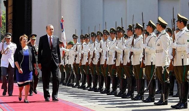 Erdoğan Şili'de
