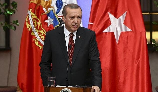 Erdoğan, Şili'de mültecilerin dramına dikkat çekti
