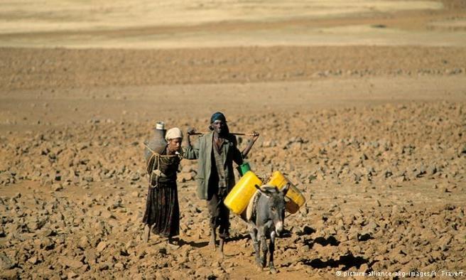 Etiyopya'da 10 milyon kişi açlık sınırında