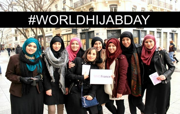 'Dünya Başörtüsü Günü' etkinliğine güvenlik engeli