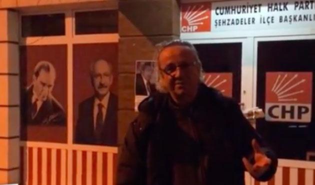 CHP'lilerden partideki mescide karşı 'laiklik nöbeti'