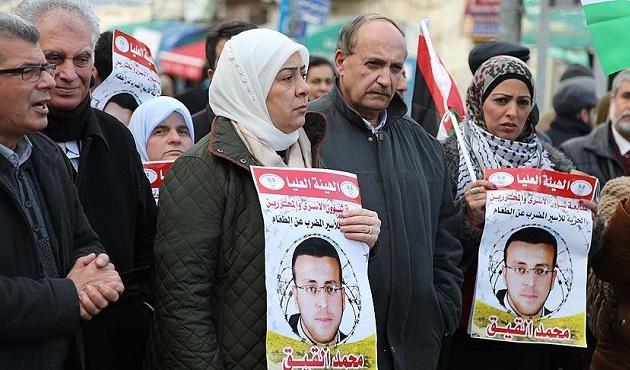 Açlık grevindeki Filistinli gazeteci ölümün eşiğinde