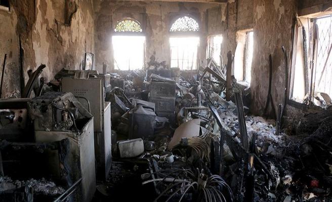 Yemen saldırılarında müze bombalandı