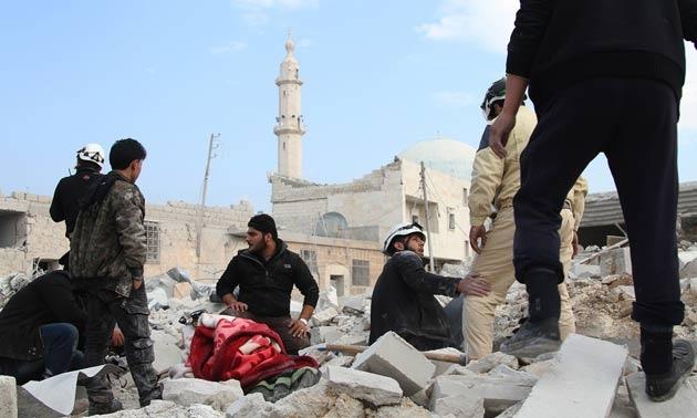 Rusya'dan 'bombalamaya devam' mesajı
