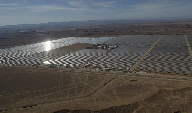 Fas'ta dünyanın en büyük güneş enerjisi santrali açıldı