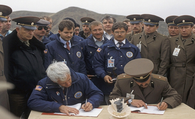 Kazakistan ve ABD'den askeri işbirliği
