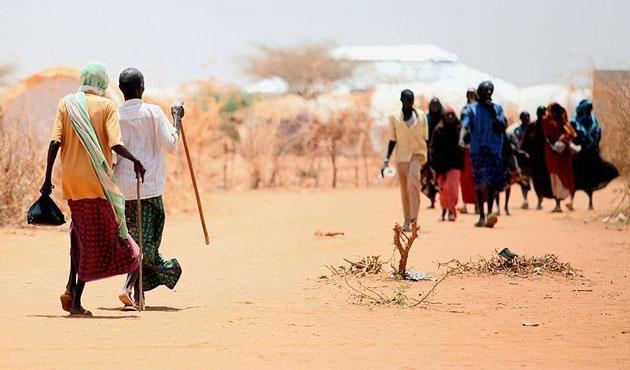 ABD'den Etiyopya'ya kuraklık yardımı