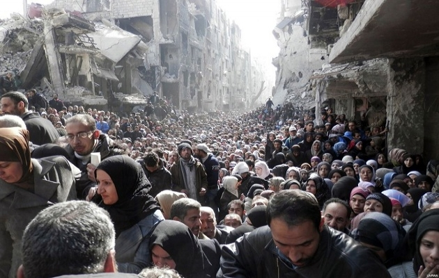 Filistinliler Suriye'yi terk ediyor