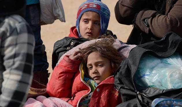 Halep'ten yeni göç dalgası büyüyor