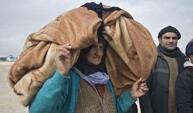 Halep'ten çileli kaçışlar sürüyor