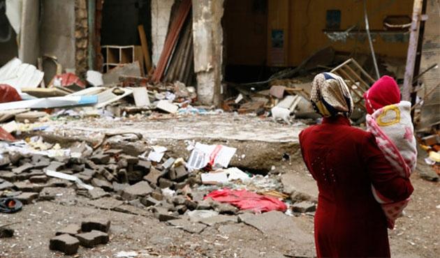 Sur'da hendekler kapatılıyor | FOTO