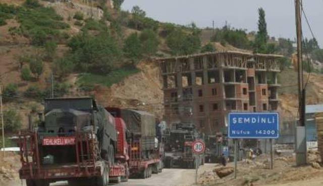 Şemdinli'de terör saldırısı