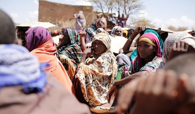 Etiyopya'da 8,5 milyon kişi açlık tehdidiye karşı karşıya