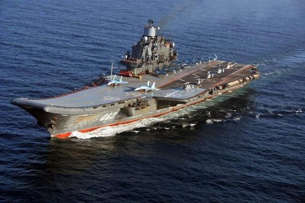 Rusya, uçak gemisini Akdeniz'e gönderiyor