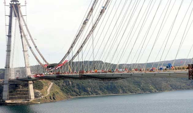 Üçüncü köprüde 'ikramiye' krizi
