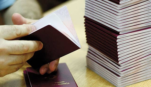Parmak izli pasaportta yeniden harç ödenmeyecek