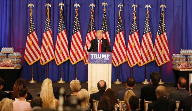 Trump adaylık için delege sayısını tamamladı