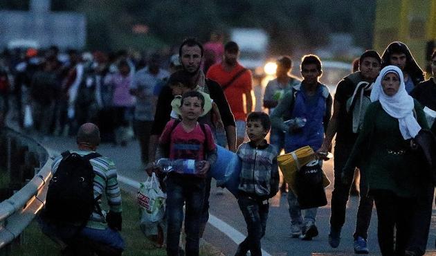 Musul'da binler göç etti