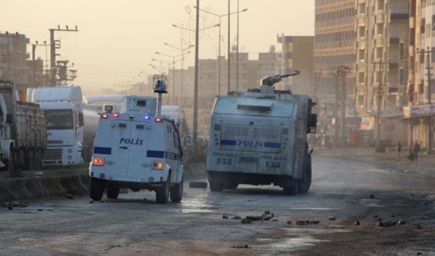Silopi'de yasağa rağmen yapılan gösteriye müdahale