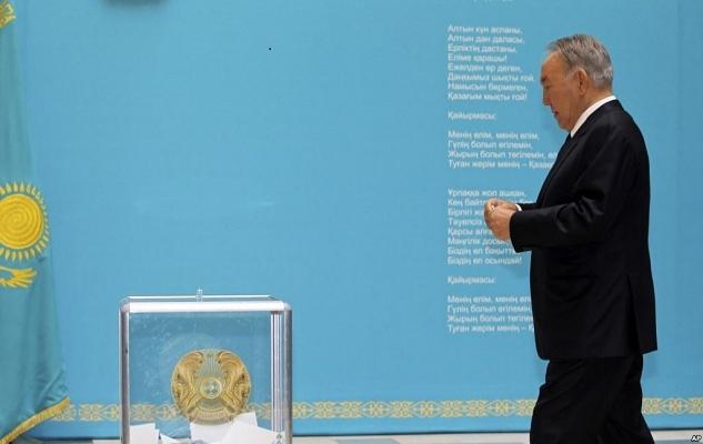 Kazakistan sandık başına gitti