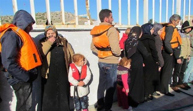 Çeşme'de 147 sığınmacı yakalandı