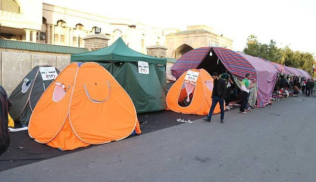 Irak'ta sivil itaatsizlik eylemi devam ediyor