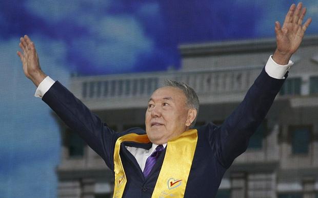 Kazakistan seçimlerini Nazarbayev kazandı