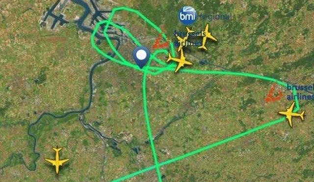 Brüksel'den gelecek THY yolcuları güvenli bölgede