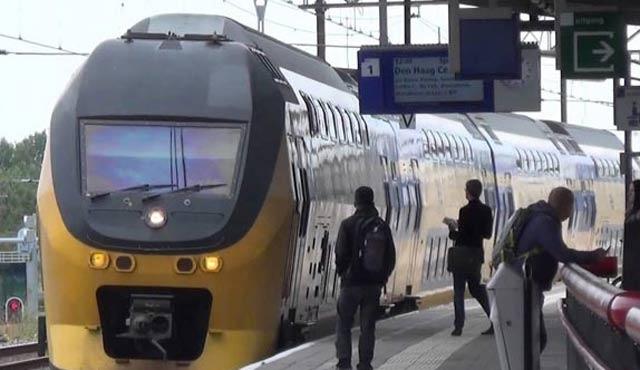 Hollanda'da tren garı 'saldırı şüphesi' nedeniyle boşaltıldı