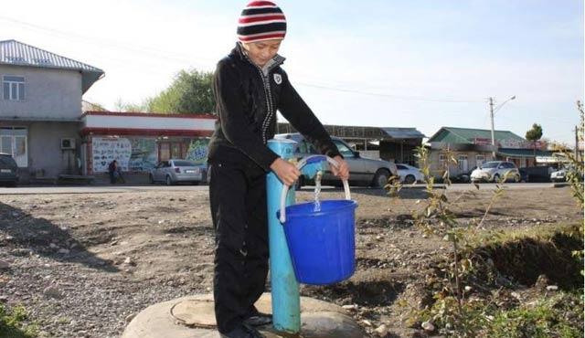 Kırgızistan'da 1,5 milyonun su sorunu var
