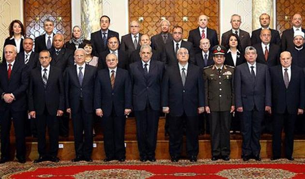 Mısır'da yeni bakanlar yemin etti