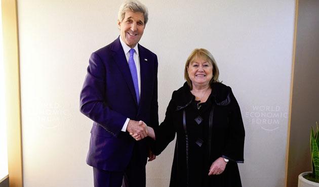 ABD ve Arjantin'den ortak 'insan hakları' bildirisi