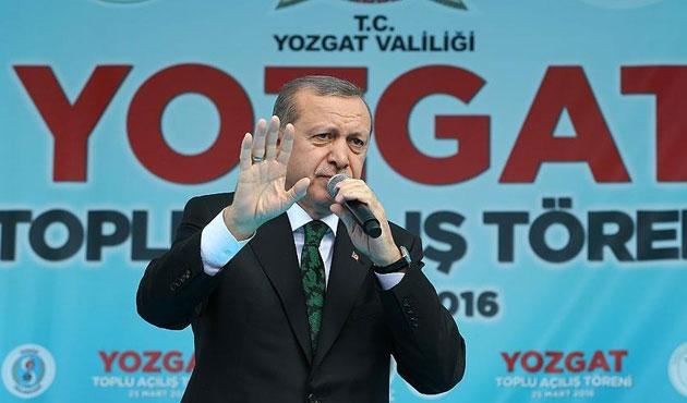 Erdoğan'dan 'beddua' tepkisi