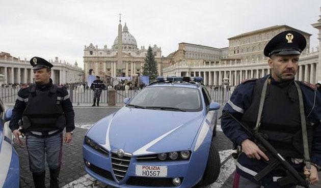 Roma ve Vatikan'da güvenlik tedbirleri arttırıldı