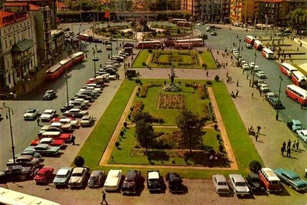 1968'in Taksim Meydanı