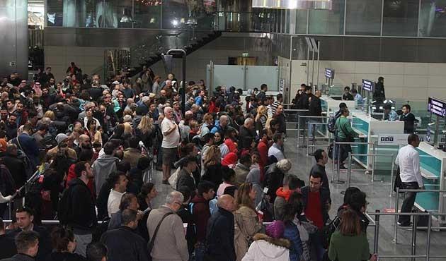 Atatürk Havalimanı'nda arıza yoğunluğu