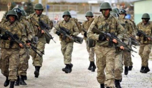 Kıbrıs'tan operasyonlara takviye asker