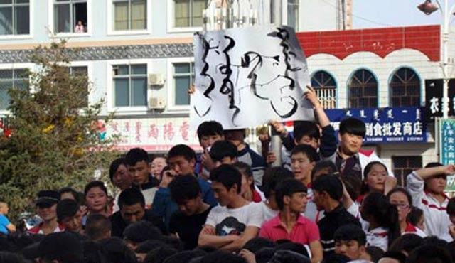 Moğolistan'da hükümet protesto edildi