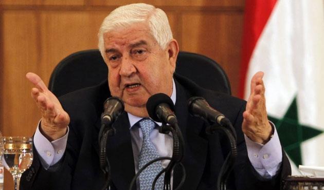 Suriye Dışişleri Bakanı Muallim Cezayir'de