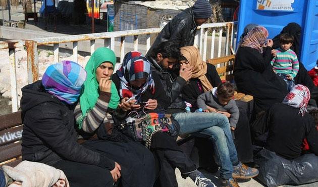 Edirne'de 74 sığınmacı durduruldu